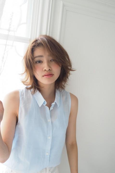 横浜  ohana  軽さのあるのラフなボブスタイル☆